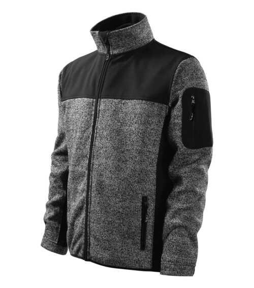 knit gray